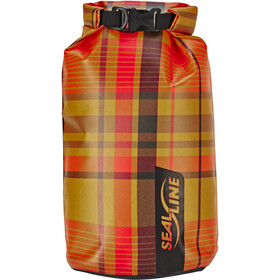 SealLine Discovery Sac de compression étanche Set, Large, orange plaid